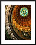 Interior of Rotunda of State Capitol Building, Springfield, United States of America Framed Photographic Print by Richard Cummins
