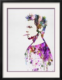 Fight Club Watercolor Prints by Anna Malkin