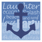 Beach Anchor Posters by Lauren Gibbons