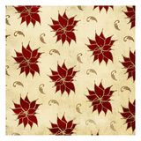 Poinsettia Gold Prints by Jace Grey