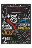 Chalkboard Kitchen Art 2 Posters by Melody Hogan