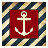 Anchored Stripes Prints by Jace Grey
