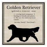 Golden Retriever Prints by Taylor Greene