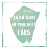 Coastal Sounds Print by Sheldon Lewis