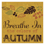 Colors of Autumn Prints by Melody Hogan