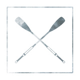 Silver Oars Prints by Jace Grey