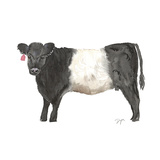 Oreo Cow Print by Beverly Dyer