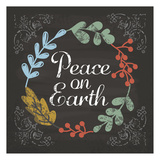 Peace on Earth Blue Prints by Melody Hogan