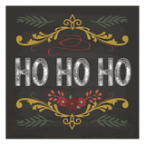 Ho Ho Ho Print by Melody Hogan