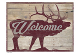 The Welcome Elk Prints by Alonzo Saunders