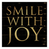 Smile With Joy Square Prints by Jace Grey