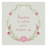 Mothers Day Florals 3 Prints by Laura Lobdell