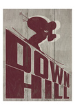 Down Hill Posters by Alonzo Saunders