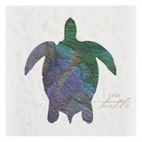 Sea Turtle Paper Posters by Melody Hogan
