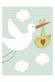 Lovin Dum Dnd Dad Stork Posters
