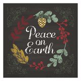 Peace On Earth Art by Melody Hogan