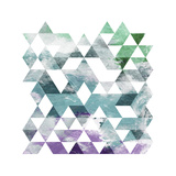 Mood Marble Triangle Posters by  OnRei