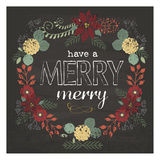 Merry Merry Red Prints by Melody Hogan
