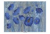 Blue Poppy Field Posters by Smith Haynes
