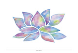 Tie Dye Lotus Prints by Pam Varacek