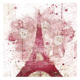 Eiffel Bloom Prints by  OnRei