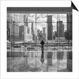 Ground Zero - New York City Landmarks, World Financial Center Plakat av Henri Silberman