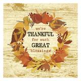 We're Thankful Wreath Art by Melody Hogan