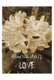 Bloom With Love Posters by Sheldon Lewis