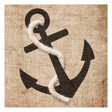 Rope Anchor Prints by Jace Grey