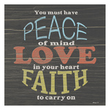 Faith To Carry On Posters par Alonzo Saunders