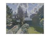 My Back Garden Giclee Print by Sir George Clausen