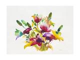 Rainbow Bouquet 2 Print by Paulo Romero