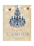 Violet's Paris 3 Posters by Violet Leclaire