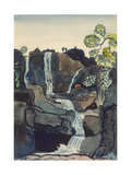 Waterfall Giclee Print by James Dickson Innes