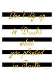Never Doubt Posters by Sheldon Lewis