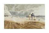 Beach Scene, Hastings Giclee Print by Joshua Cristall