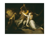 Percival Delivering Belisane from the Enchantment of Urma Giclee Print by Henry Fuseli