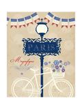 Violet's Paris 1 Print by Violet Leclaire