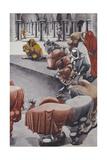 From Wake, Untitled Giclée-trykk av Edward Burra