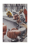 From Wake, Untitled Giclee Print by Edward Burra