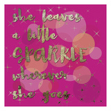 Sparkle Glam Poster by Melody Hogan
