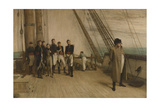 Napoleon on Board the Bellerophon Giclee Print by Sir William Quiller Orchardson