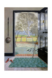 The Black Door Giclee Print by Harold Jones