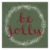 Be Jolly Art by Laura Lobdell