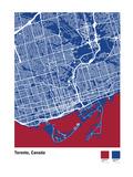 Toronto Giclee Print by Michael Tompsett