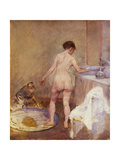 The Tub Giclee Print by Jean-Louis Forain