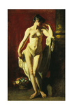 Standing Female Nude Giclee Print by William Etty