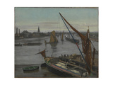 Battersea Reach Giclee Print by Walter Greaves