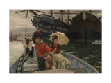 Portsmouth Dockyard Giclee Print by James Tissot