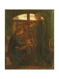 Mary in the House of St John Giclee Print by Dante Gabriel Rossetti